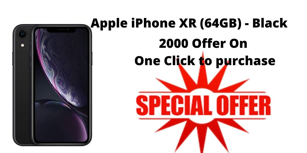 Apple Black iPhone XR 64GB mobile phone