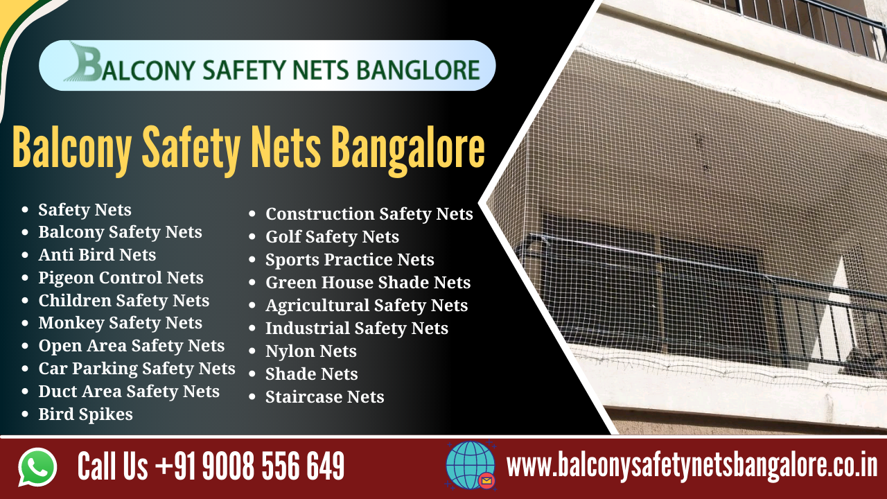 Balcony safety nets Bangalore