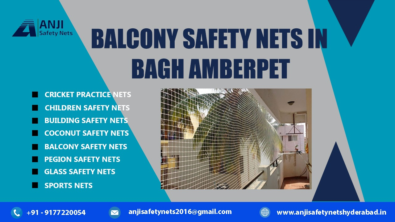 Balcony Safety Nets in Bagh Amberpet