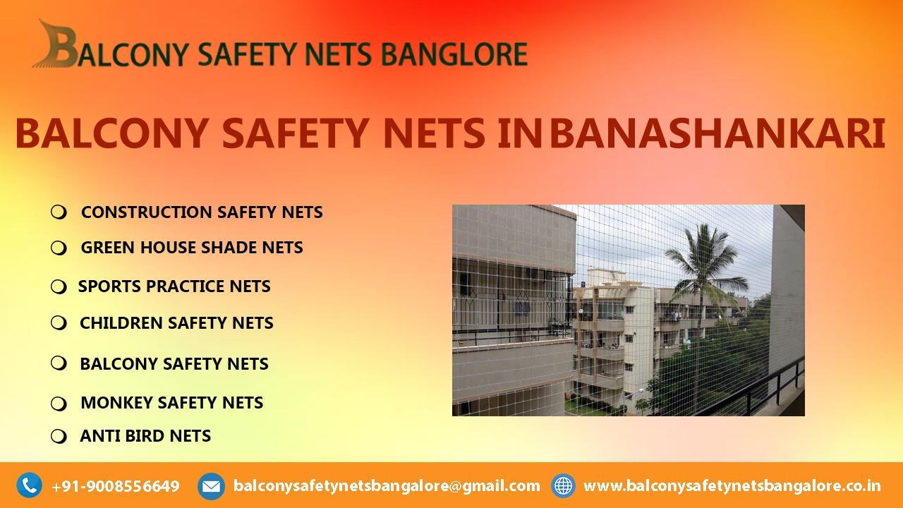 Balcony Safety Nets in Banashankari