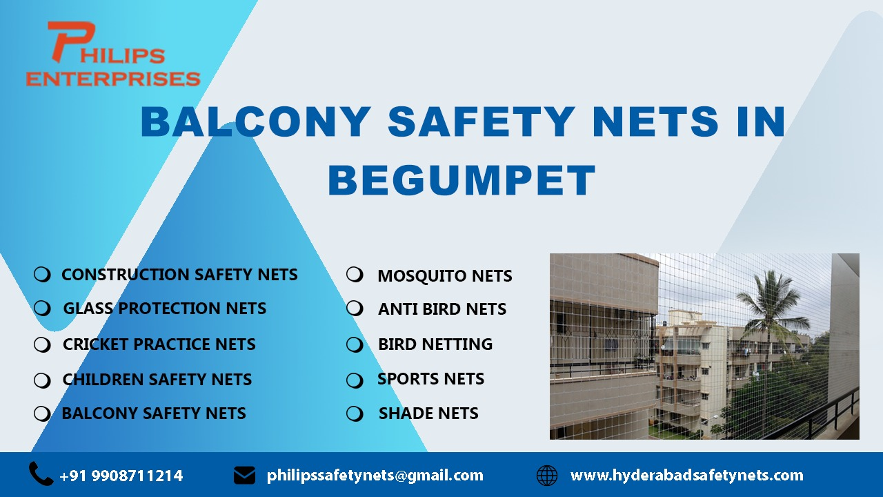 Balcony Safety Nets in Begumpet