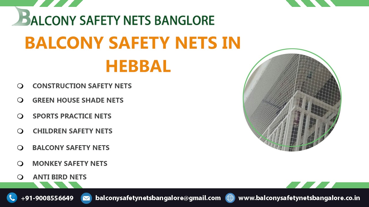 Balcony Safety Nets in Hebbal