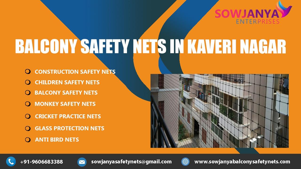 Balcony Safety Nets in Kaveri Nagar