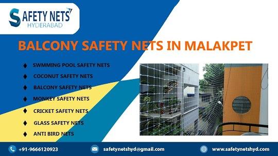 Balcony Safety Nets in Malakpet