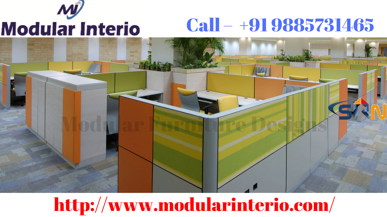 Best modular furniture designs for office in Hitech City