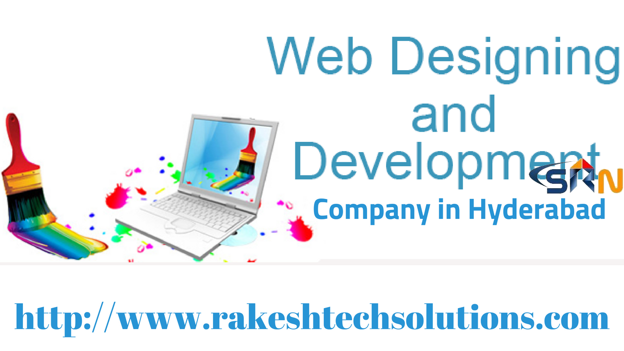 web design and development company in Hyderabad