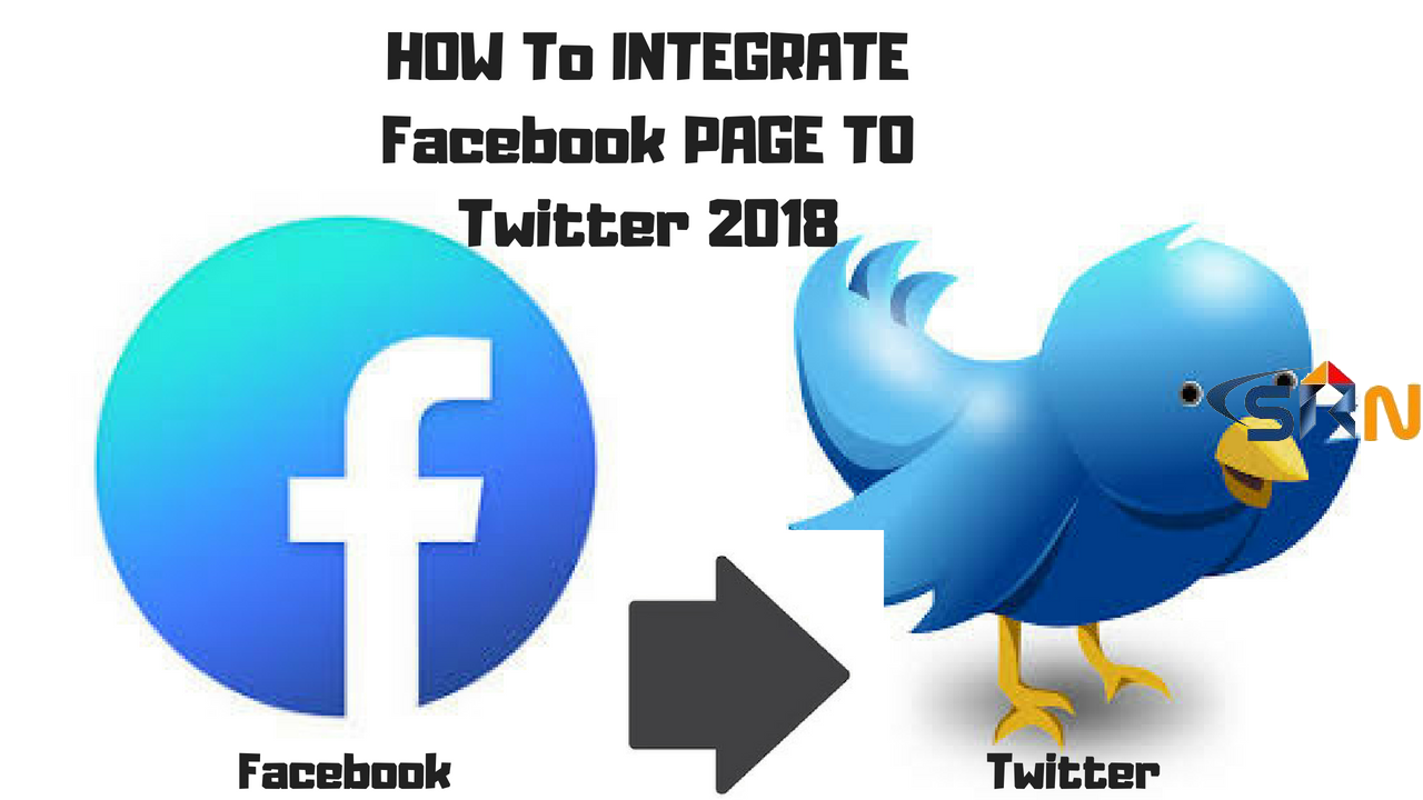 How to integrate facebook page to twitter 2018