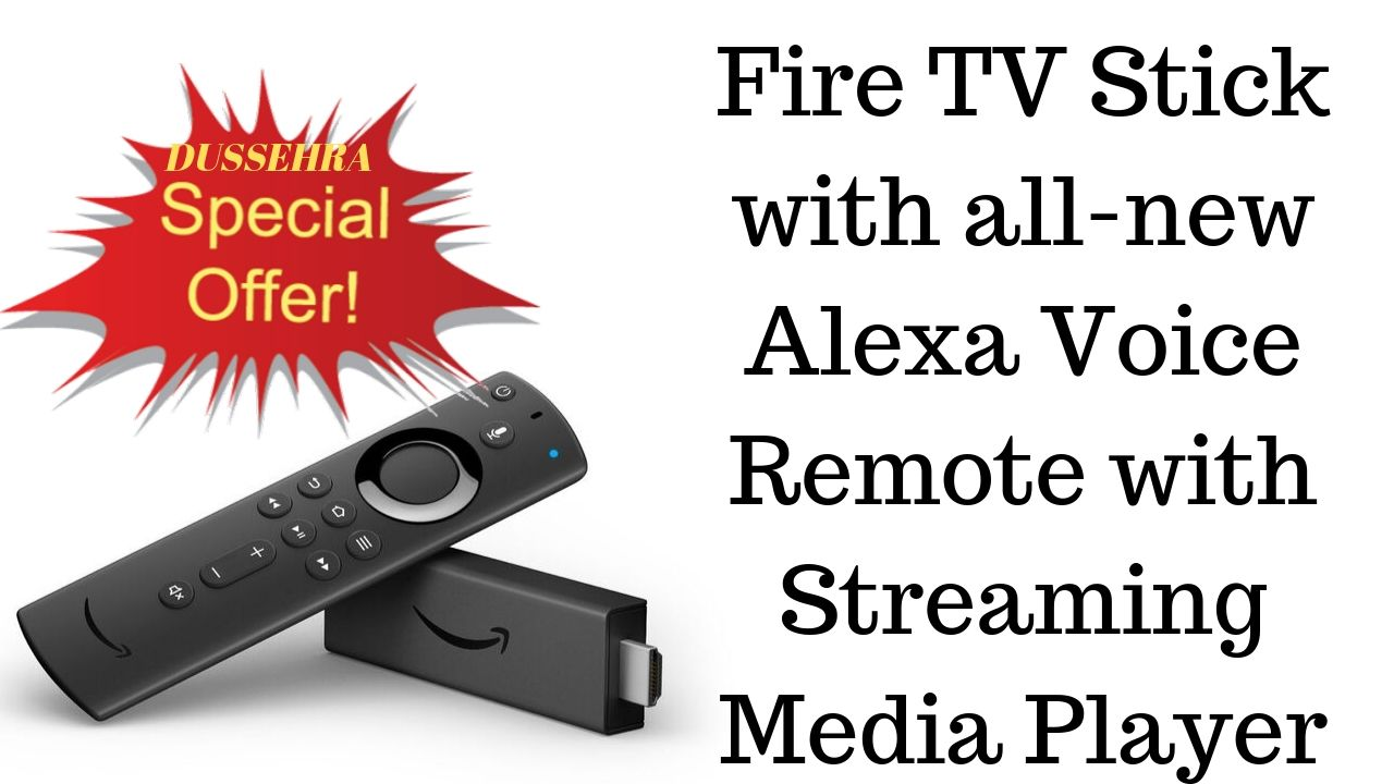 Fire TV Stick with all-new Alexa Voice Remote with Streaming Media Player