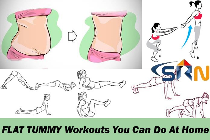 7 exercises for a flat tummy