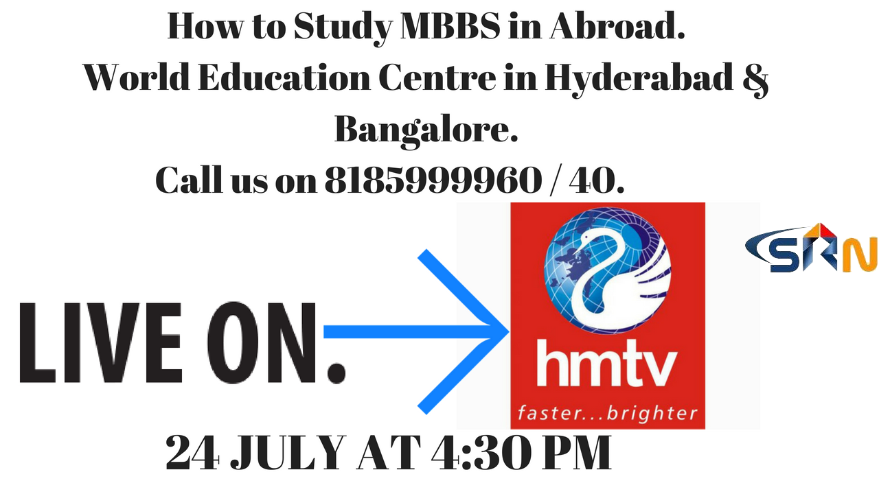 How to Study MBBS in Abroad live program on hmtv