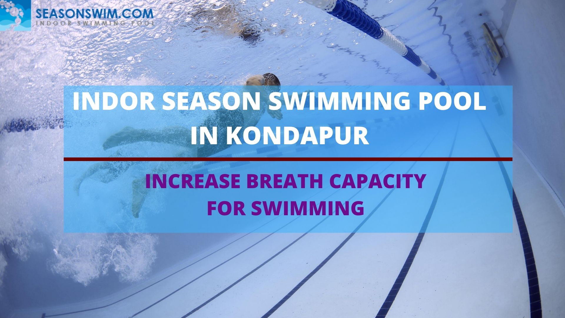 Increase breath capacity for swimming