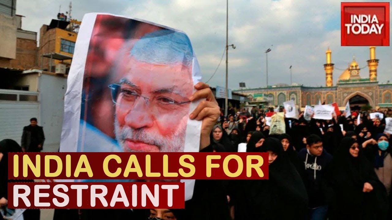 India Call For Restraint
