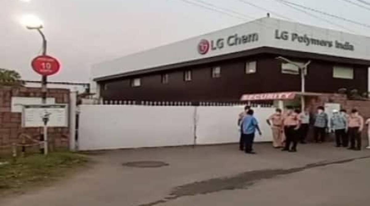LG Polymers company reacts on Styrene Gas leakage