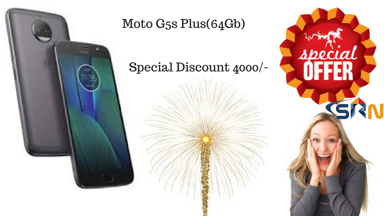 Moto G5s Plus 64Gb mobile special offer