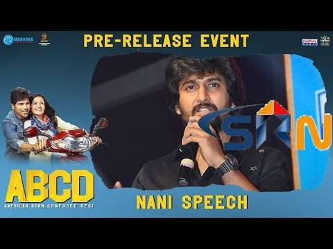 Nani speech at ABCD Movie Pre Release Event