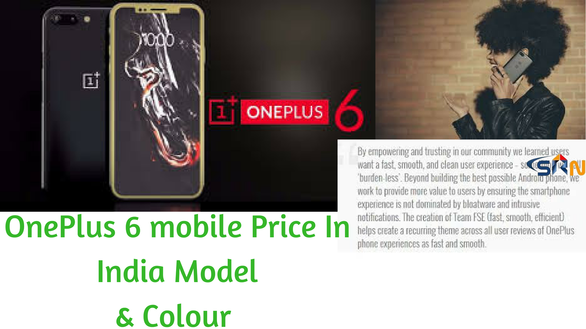 OnePlus 6 mobile Price in India  Model  Colour