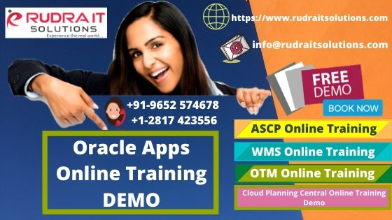Oracle Apps Online Training Demo
