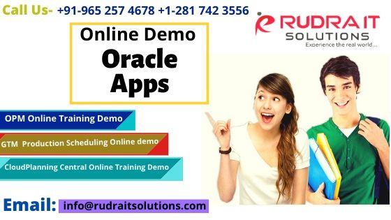 Oracle Apps Free Online Training Demo