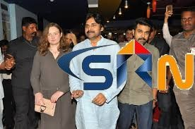 Pawan Kalyan Watched Rangasthalam Movie With Family Members