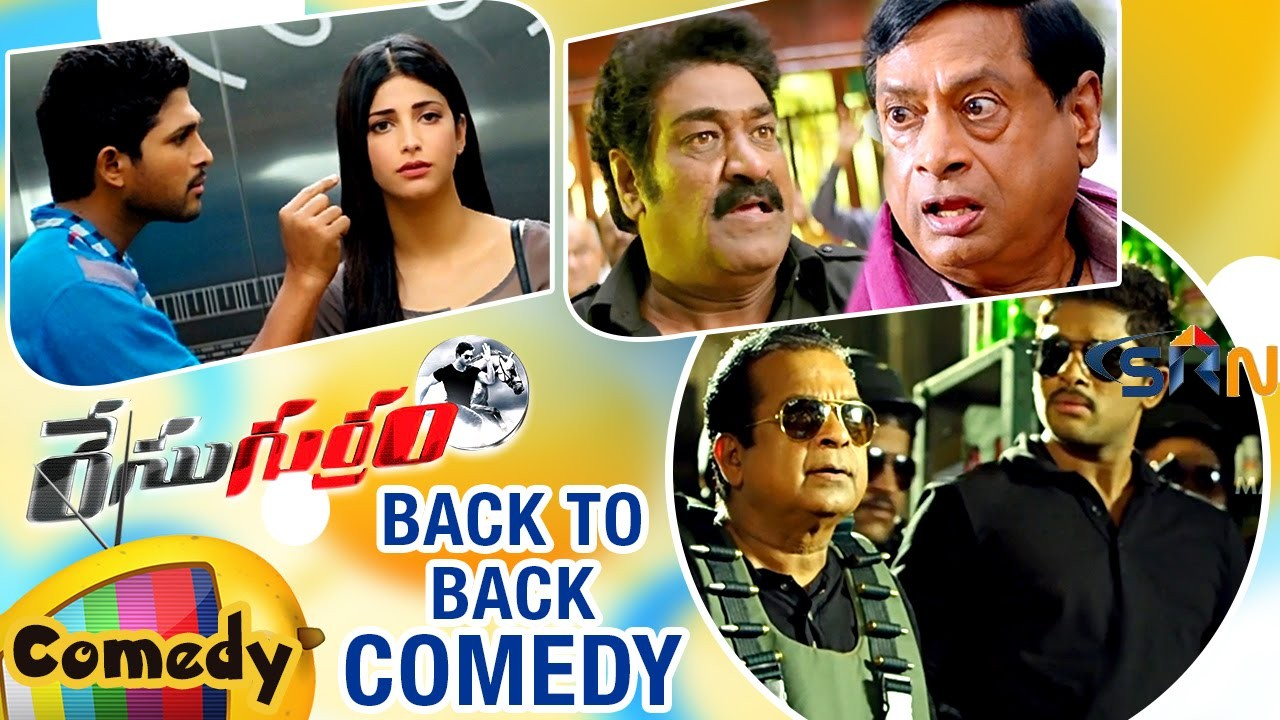 Race Gurram Telugu Movie | Back to Back Comedy Scenes