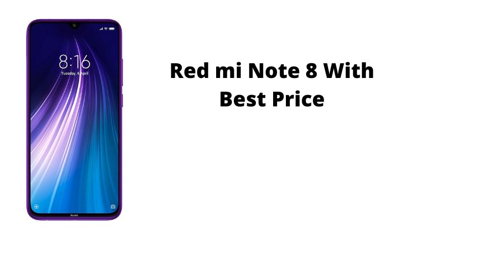 Redmi note 8 with less price