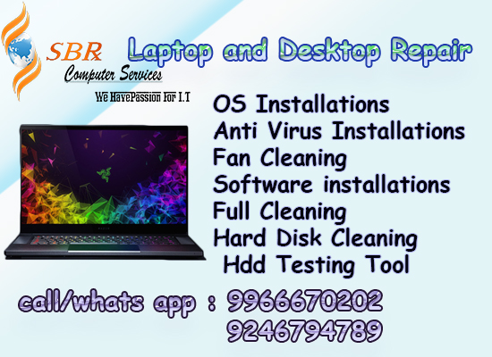 Computer and Laptop Repair Service in Beeramguda - SBR COMPUTERS