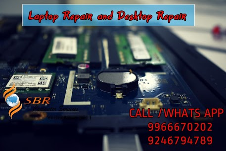 laptop desktop repair at doorstep service in beeramguda