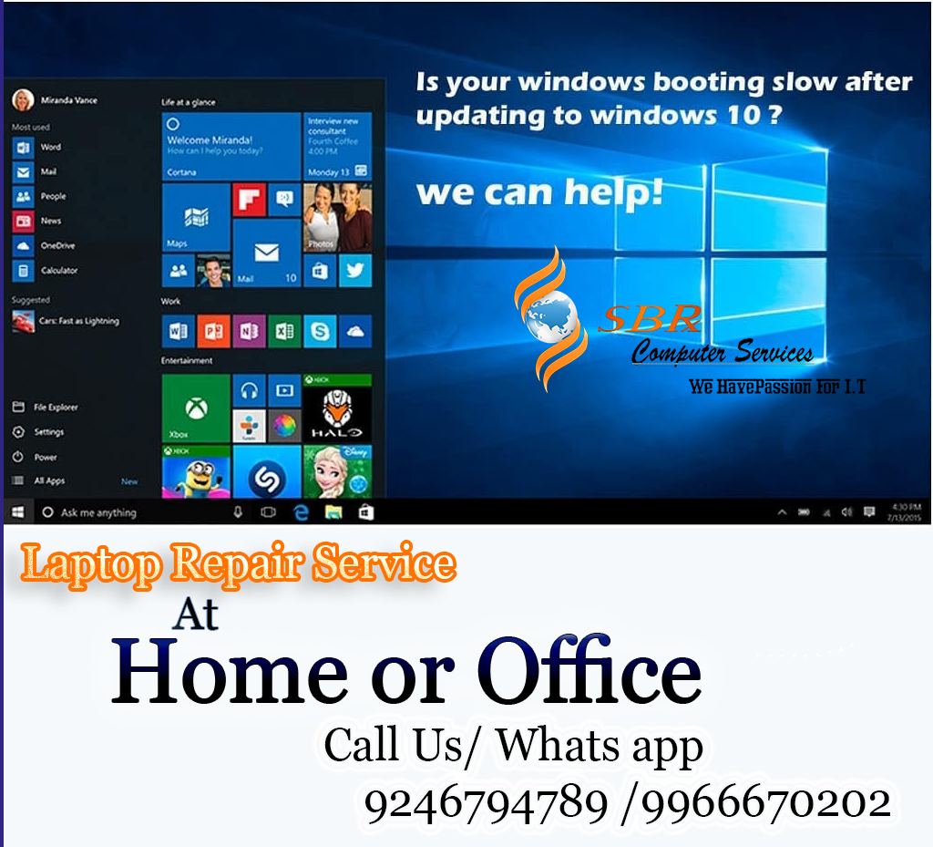 Laptop Repair Services in Chanda Nagar