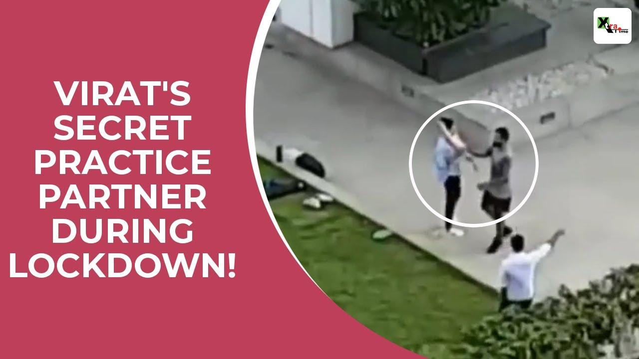 Secret video footage from Virat Kohlis house