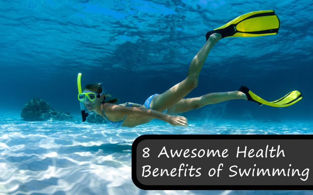 8 Awesome Health Benefits of Swimming