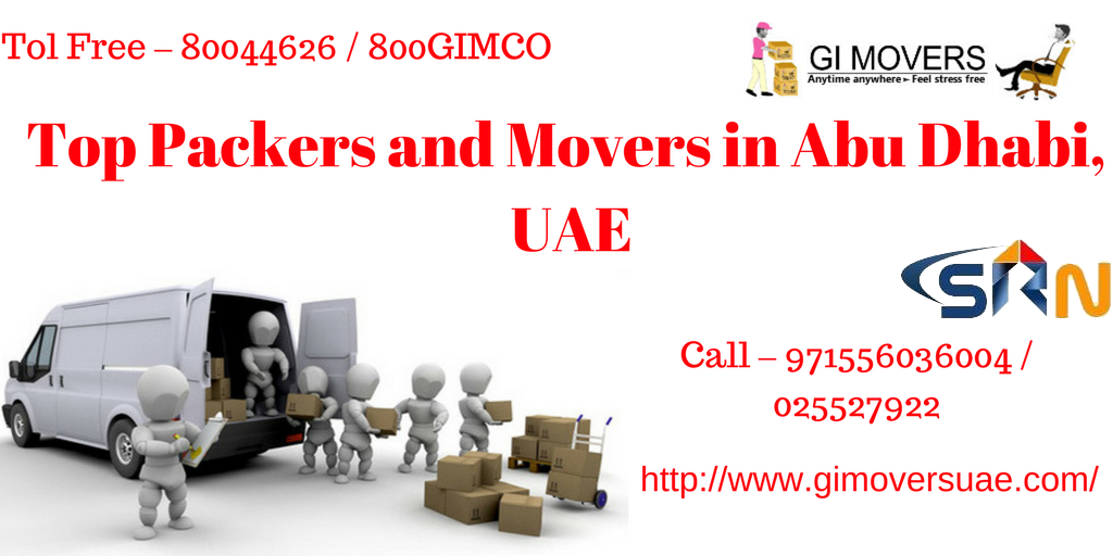 Top Packers and Movers in Abu Dhabi UAE