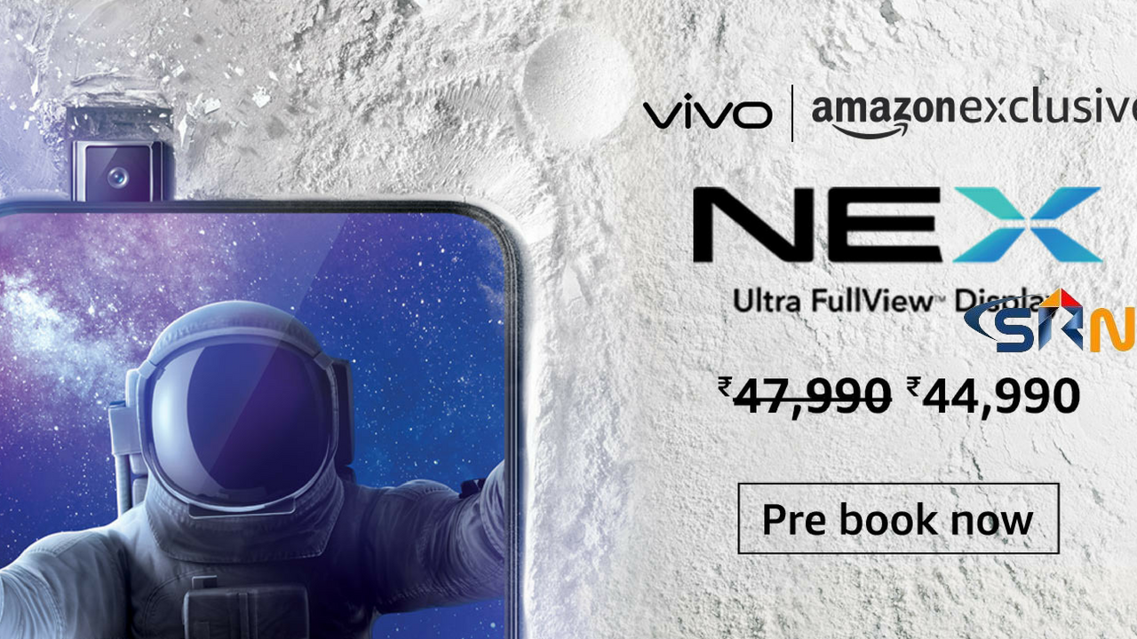 Vivo NEX (Ultra FullView Display, 8GBRAM + 128GB Memory) - Black 2018