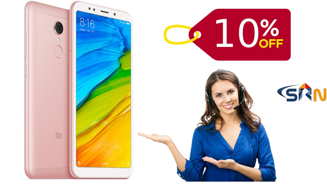 Redmi 5 (Gold, 32GB) mobile