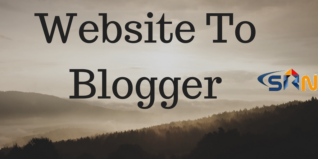 How to redirect a Website to another blogger Tutorial