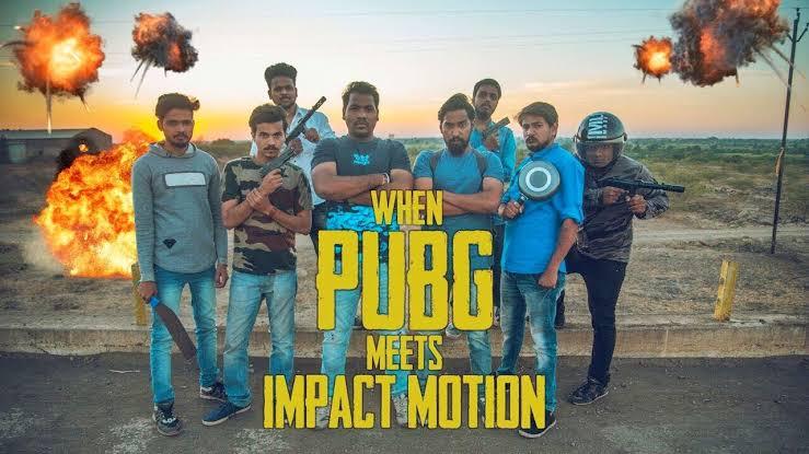 When PUBG meets Impact Motion