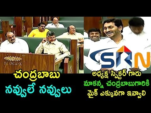 YS Jagan Funny Satircal Comments On Chandrababu TDP At Assembly Sessions 2019