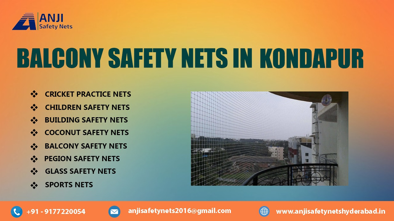 Balcony Safety Nets in Kondapur