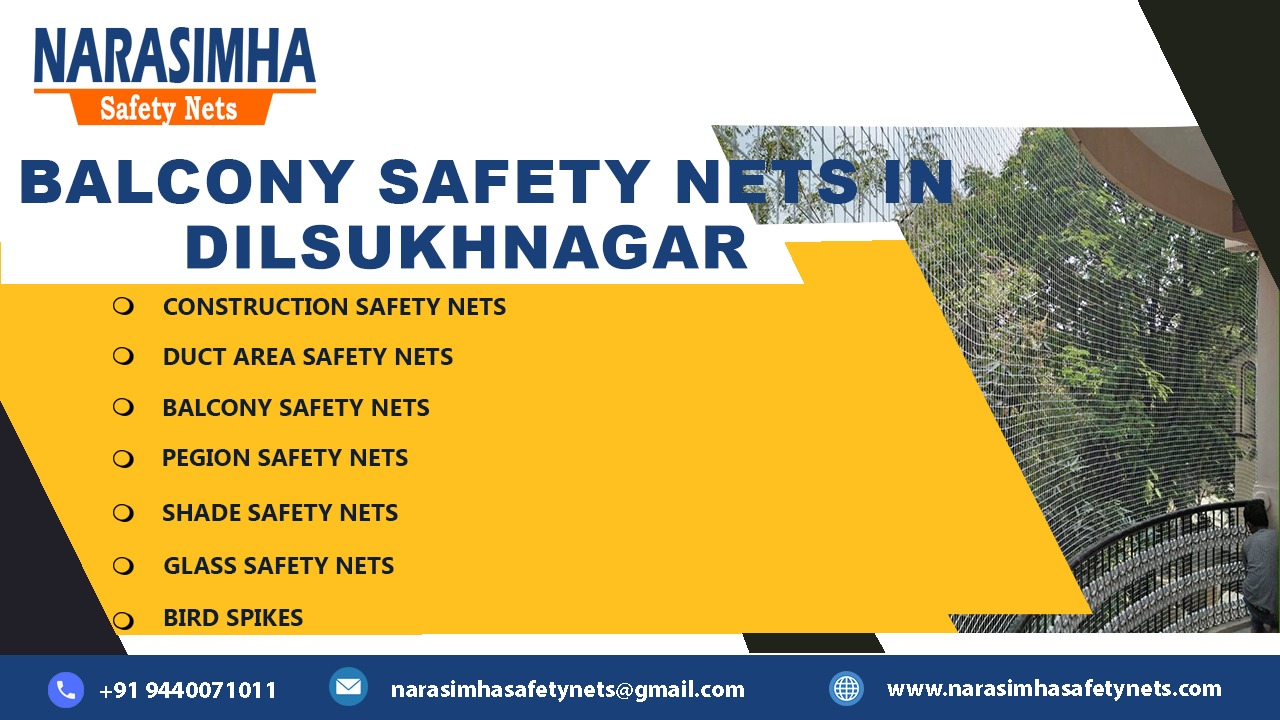 Balcony Safety Nets in Dilsukhnagar
