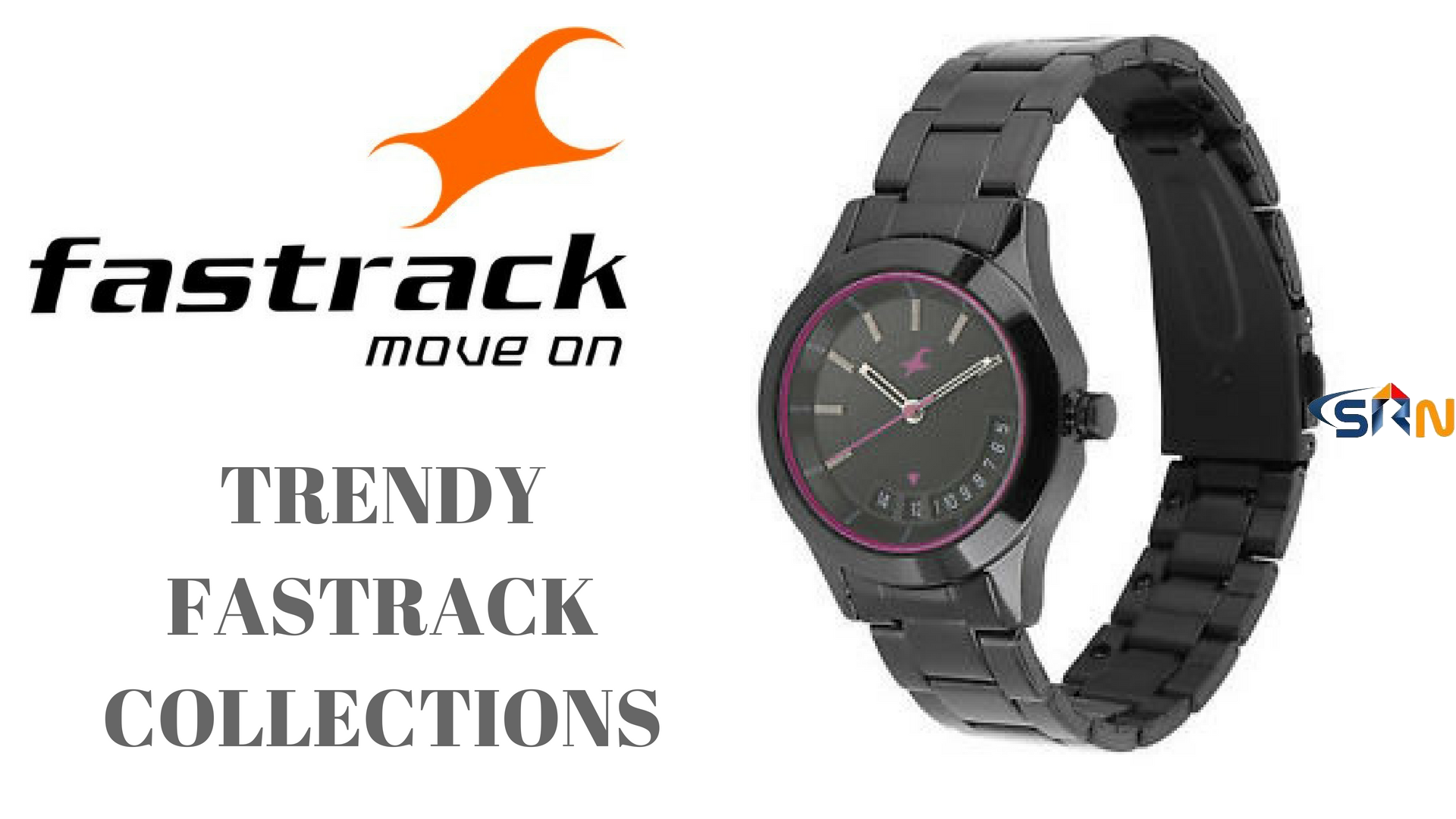 Trendy fastrack watches for women's