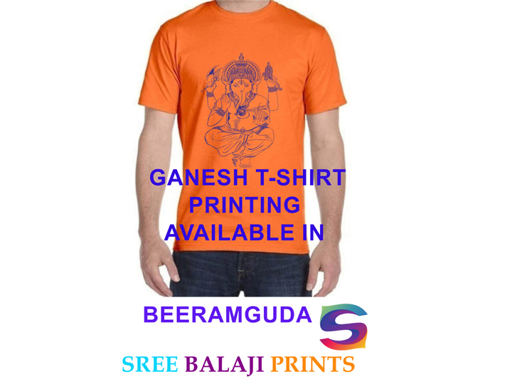 GANESH T-SHIRT PRINTING AT LOW COST BEERAMGUDA