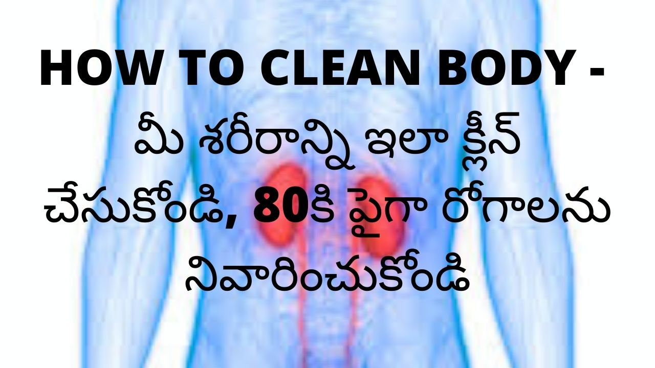 how to clean body detox drink