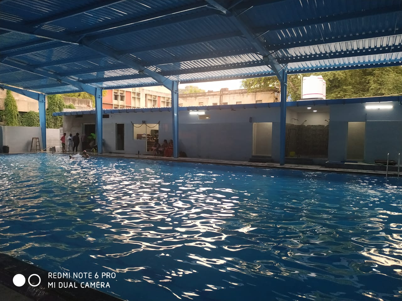 Indoor swimming pool in Koti Hyderabad