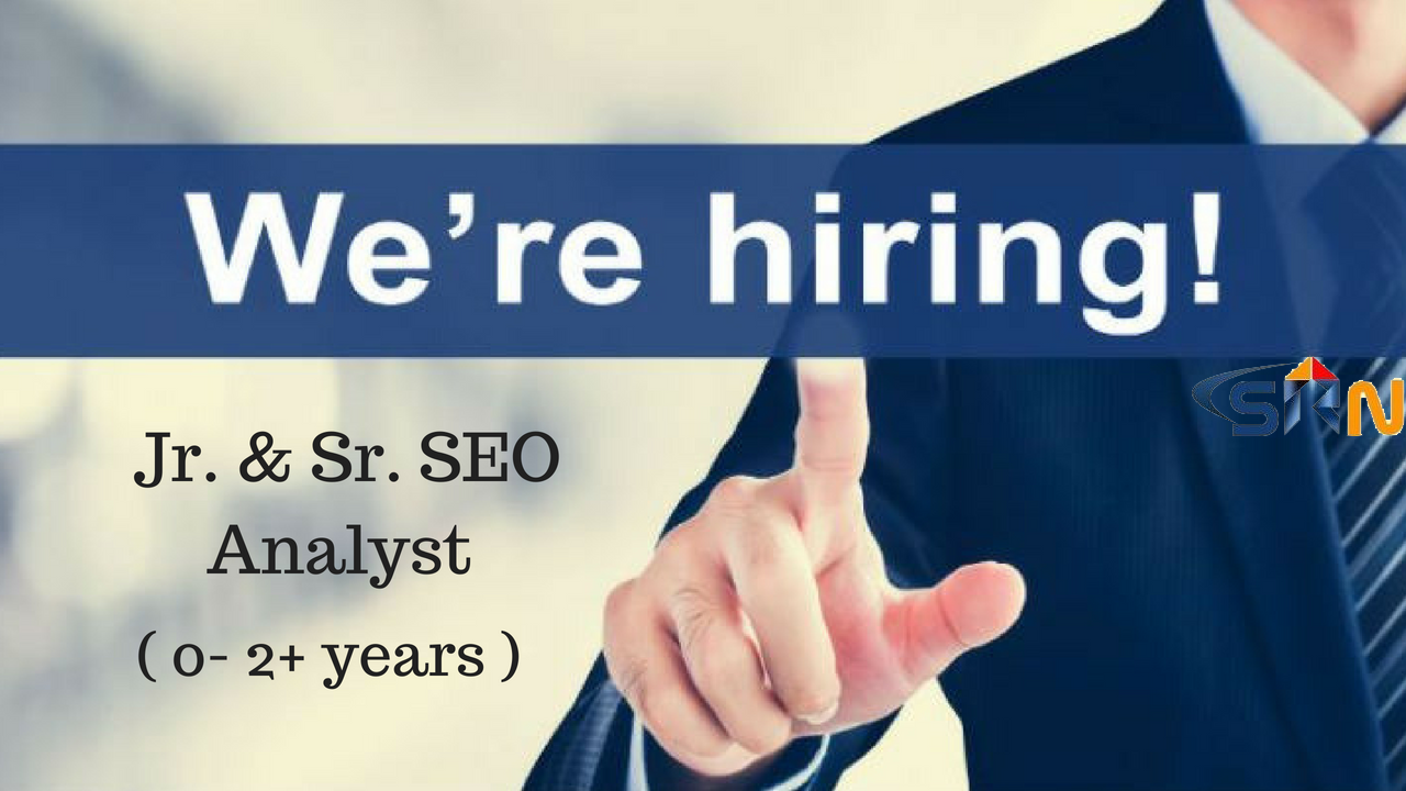requirement for seo analyst jobs in hyderabad