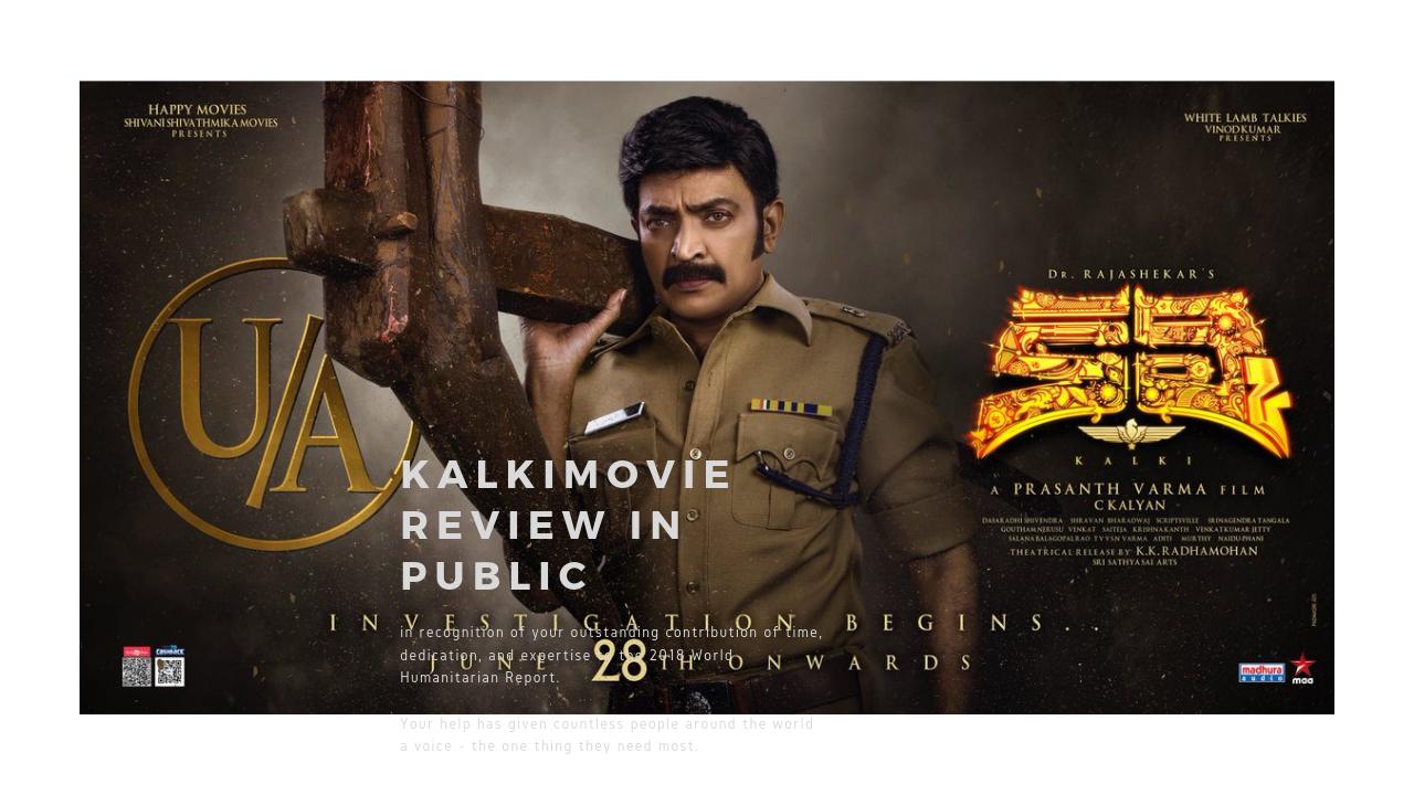 kalki movie review in public