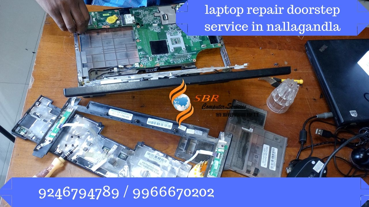 laptop sales and repair doorstep service in nallagandla