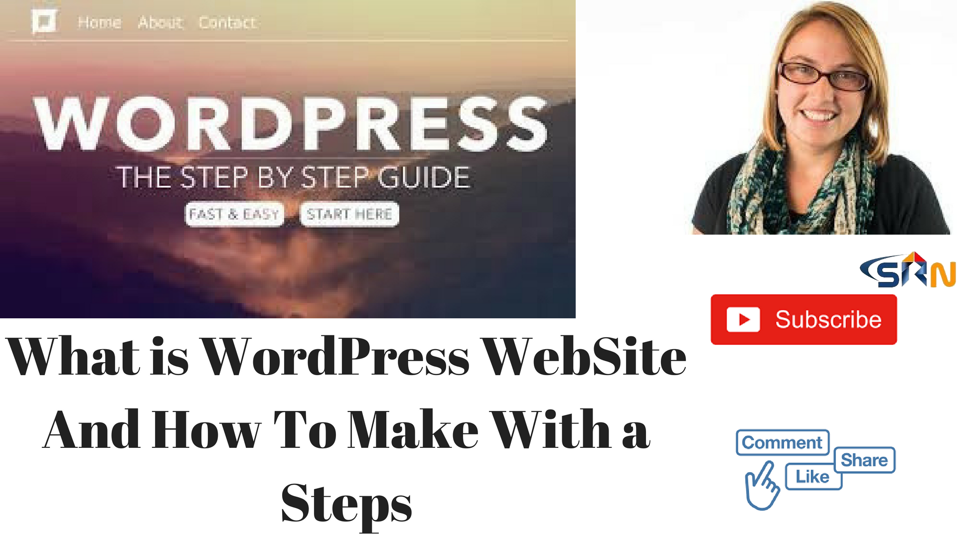 What is WordPress Website And How To Make With a Steps