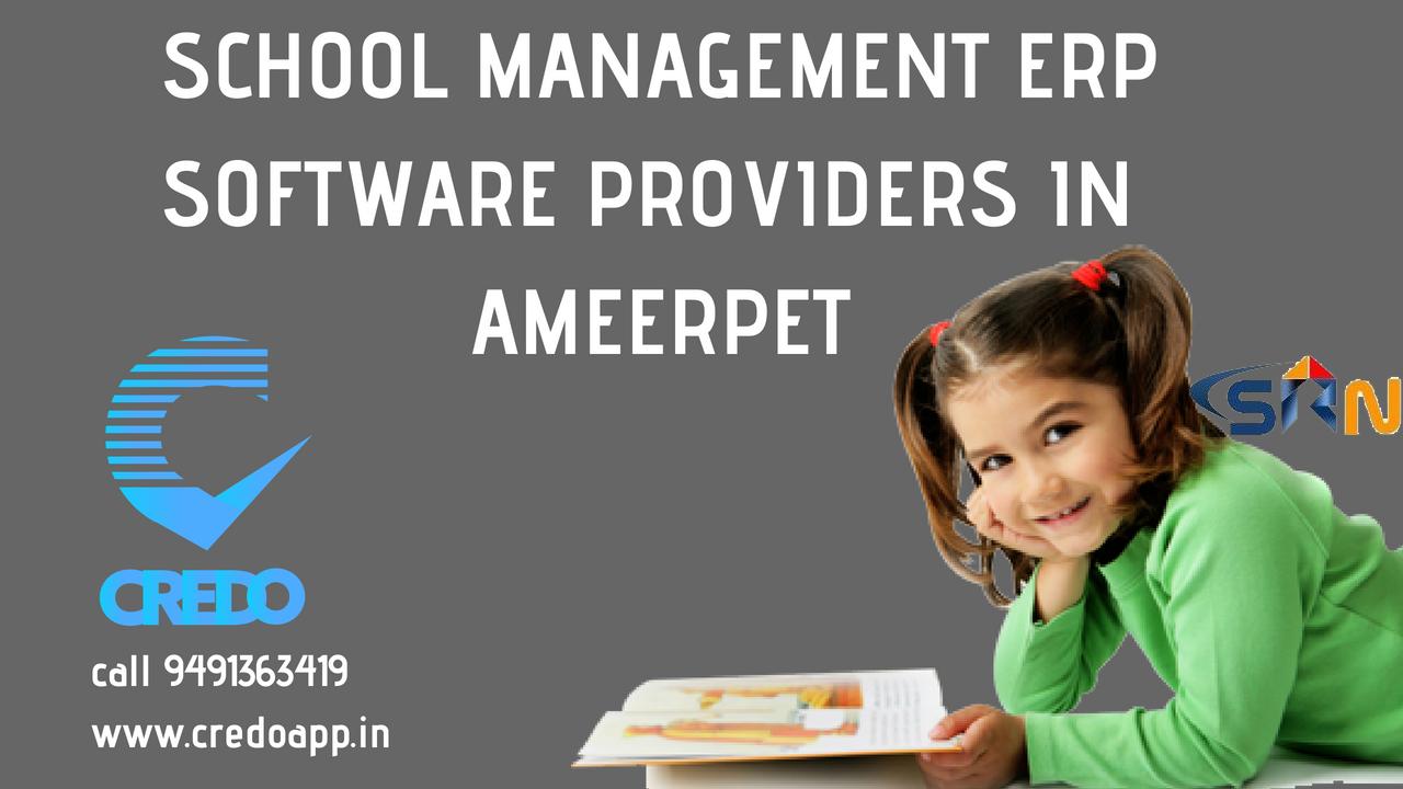 School Management ERP Software Providers in Ameerpet Hyderabad