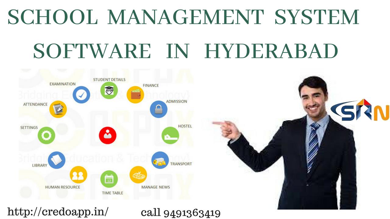school management system software in hyderabad credoapp