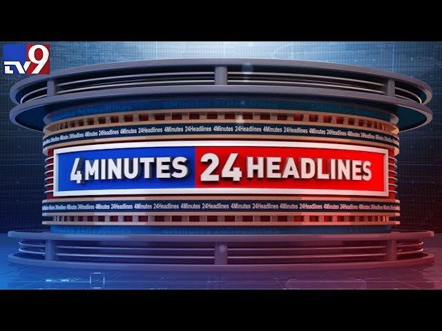 4 minutes 24 headlinesTodays headlines telugu states andhra and telangana