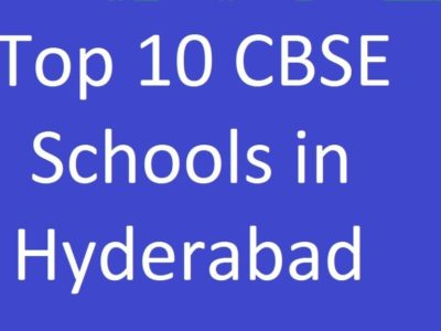 Top 5 CBSE Schools in Hyderabad in 2019